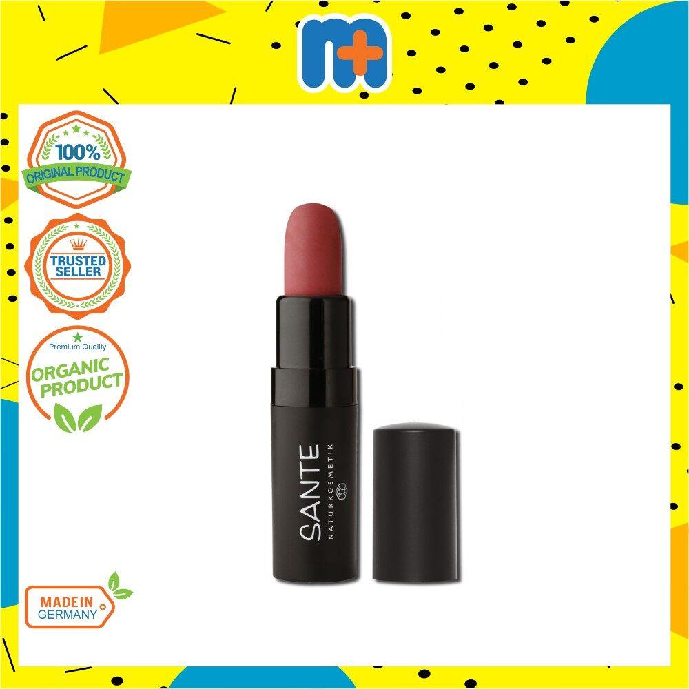 [MPLUS] SANTE Matte Lipstick New 02 Pure Rosewood