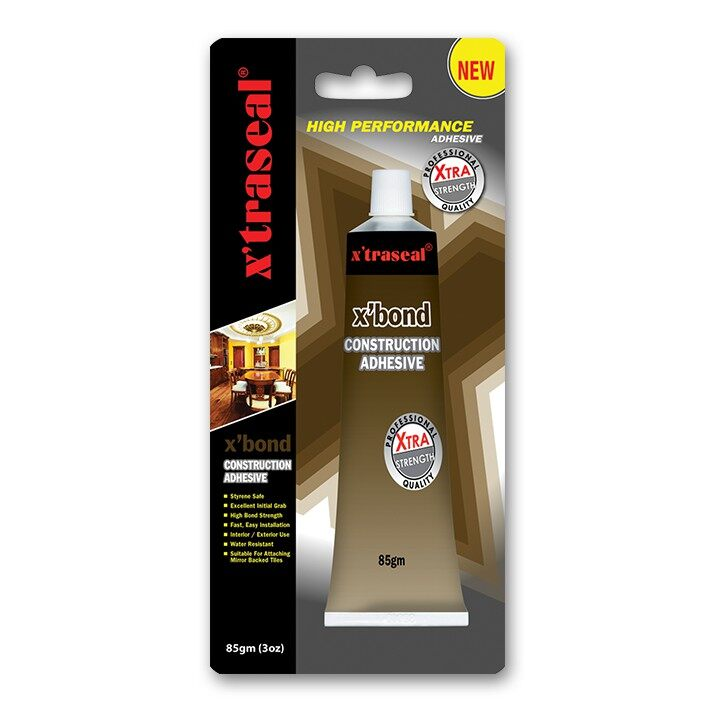 X'traseal X'Bond Construction Adhesive (85G)