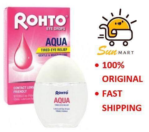 Rohto Aqua Eye Drops 13ml