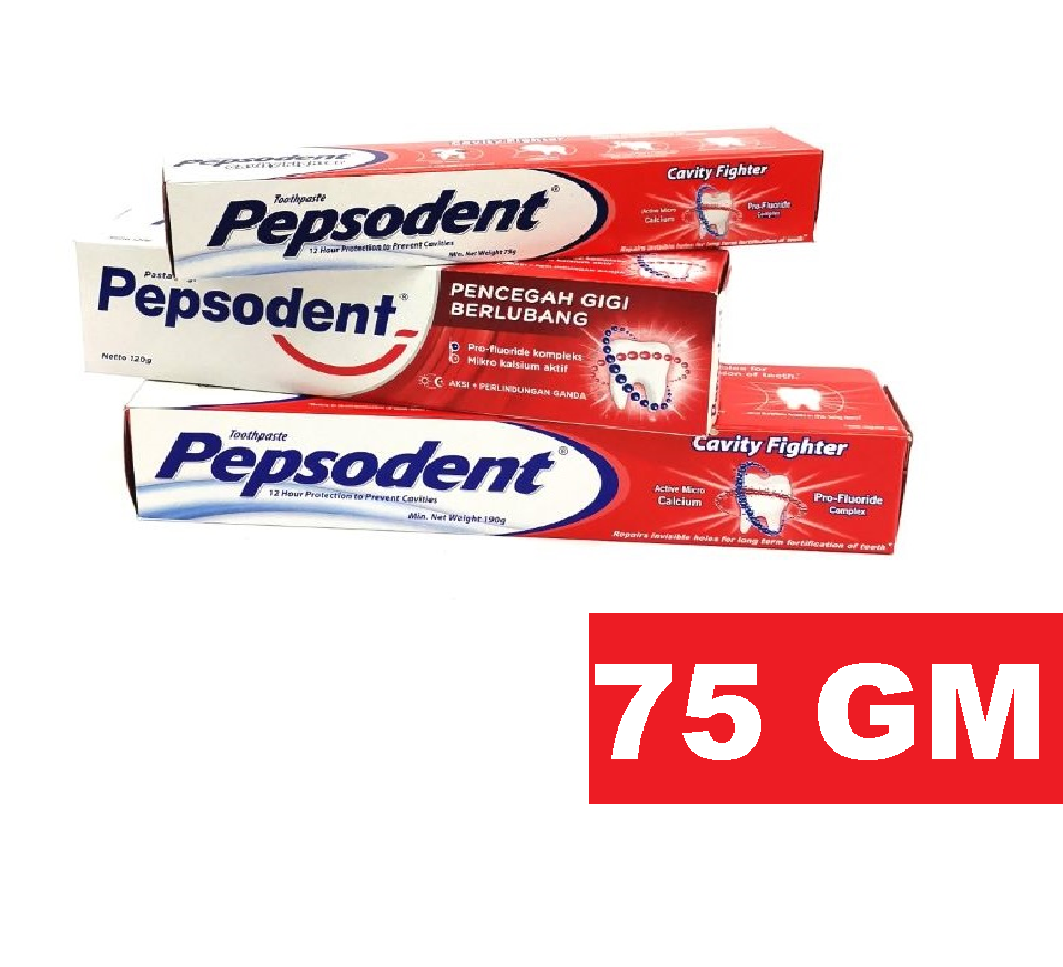 PEPSODENT CAVITY FIGHTER TOOTHPASTE 75 GM