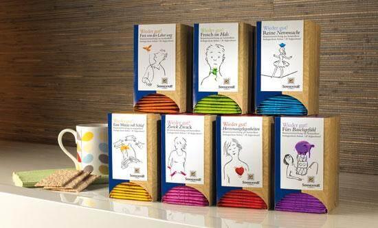 Sonnentor Listen To Your Heart Organic Herbal Tea Blend with Mate (1.5g x 18 tea bags) 27g
