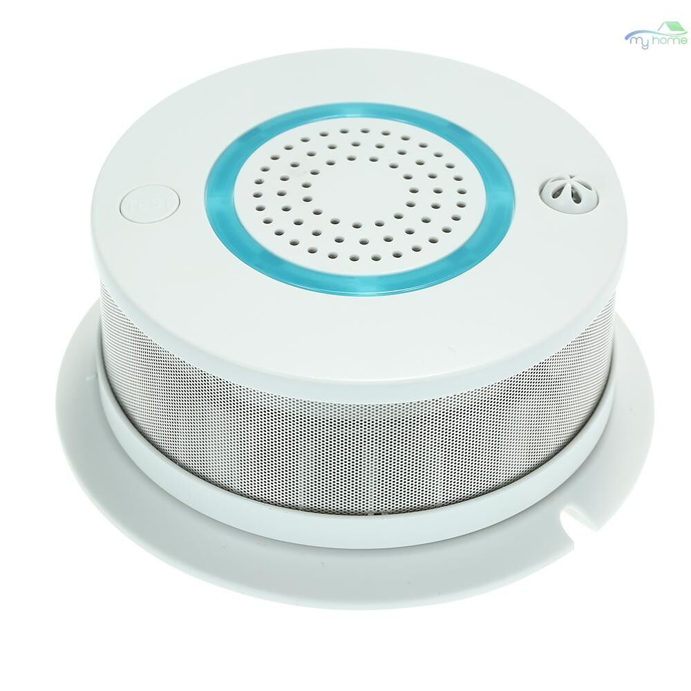 Sensors & Alarms - Smart WIFI + APP Fire Smoke & Temperature Sensor Smart 2 in 1 WIRELESS Smoke Temperature Detector - #
