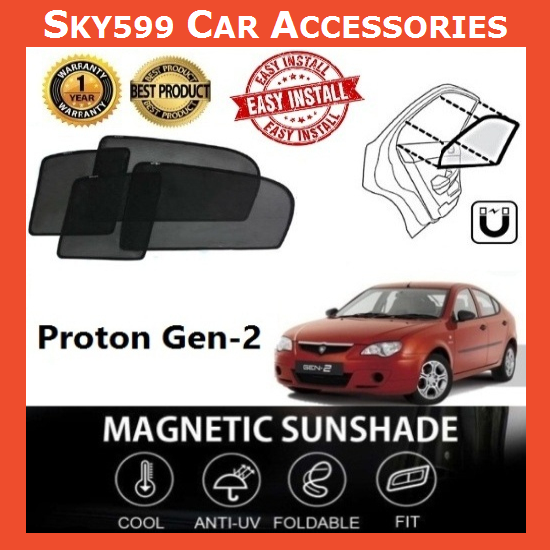 Proton Gen-2 Magnetic Sunshade ?4pcs?