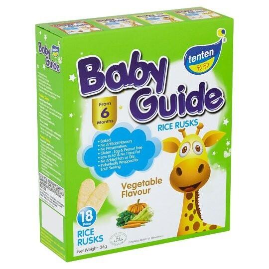 TenTen Baby guide Rise Husk (6month+) VEGETABLE