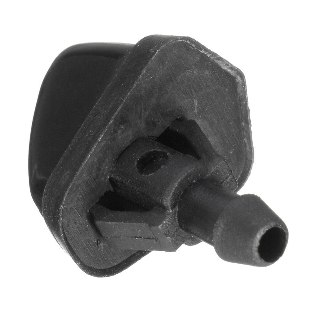 Windscreen Wipers & Windows - 2X Windshield Washer Wiper Water Jet Nozzle Inlet Push For Suzuki Swift - Car Replacement Parts