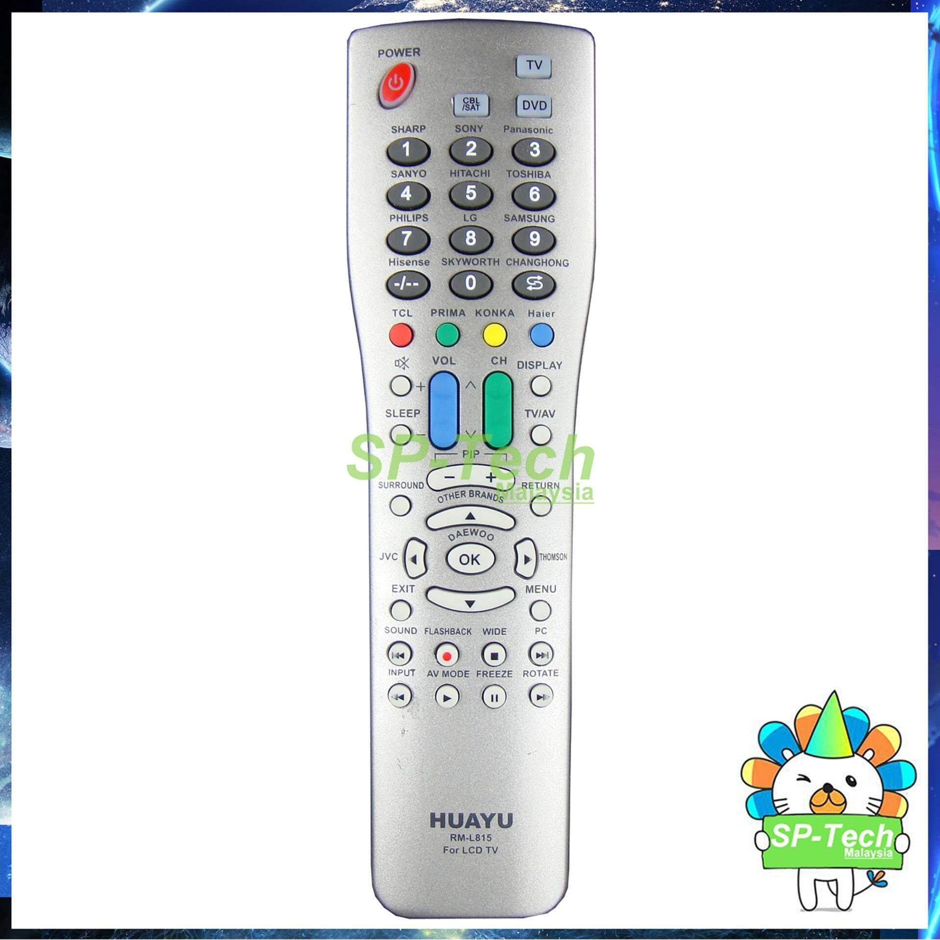 RM-L815 HUAYU UNIVERSAL LCD/LED TV REMOTE CONTROL