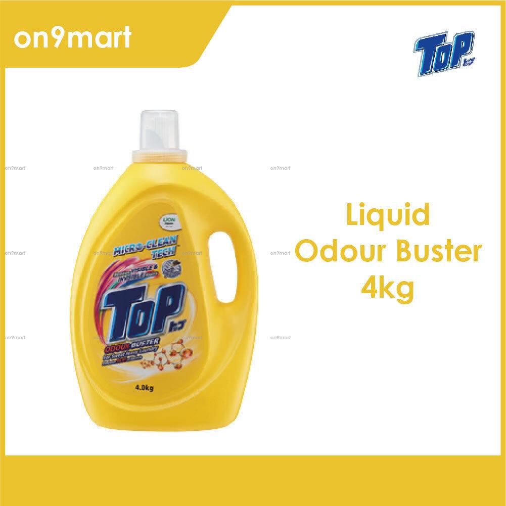 TOP Liquid Laundry Detergent - Odour Buster 4kg