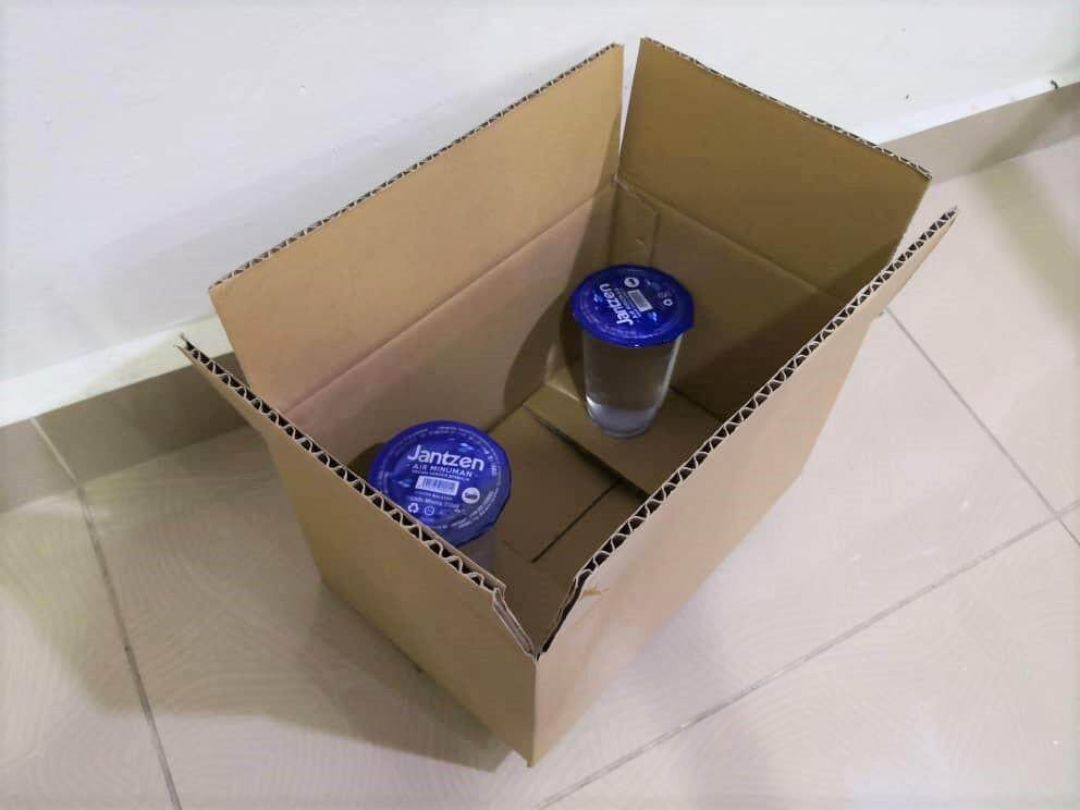 7pcs Plain Carton Boxes (L260 X W172 X H154mm)