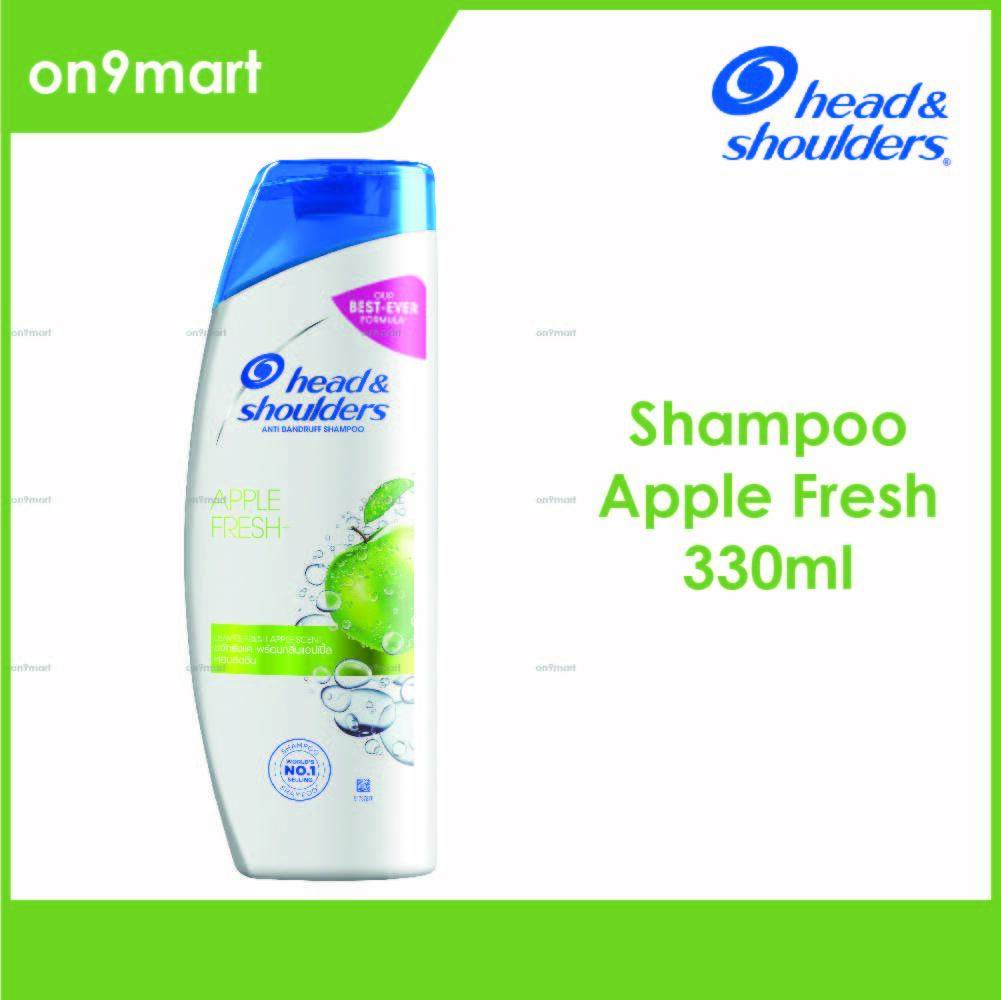 Head & Shoulders Apple Fresh Anti Dandruff Shampoo 330ml