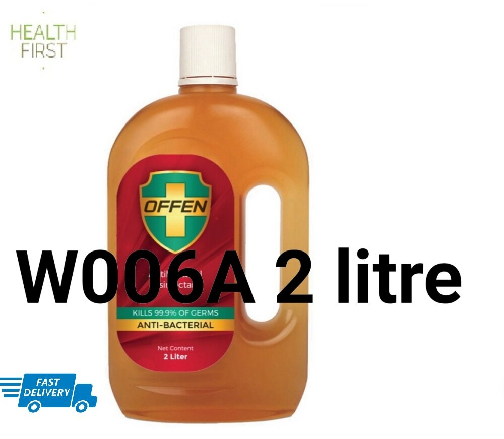 OFFEN ANTISEPTIC ANTIBACTERIAL LIQUID (SAME AS DETTOL) 2 LITER
