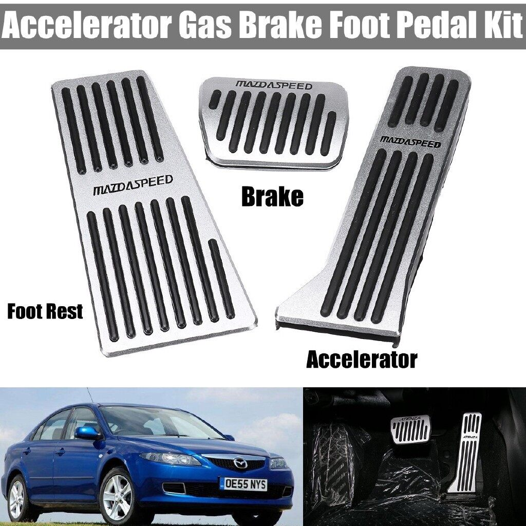 Brake Systems - Accelerator Gas Brake Foot Pedal Kit For Axela Atenza Mazda 3 / 6 CX3 - Car Replacement Parts