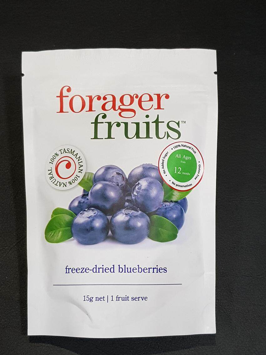 [MPLUS] FORAGER FRUITS FREEZE DRIED BLUEBERRIES SNACKS 15G