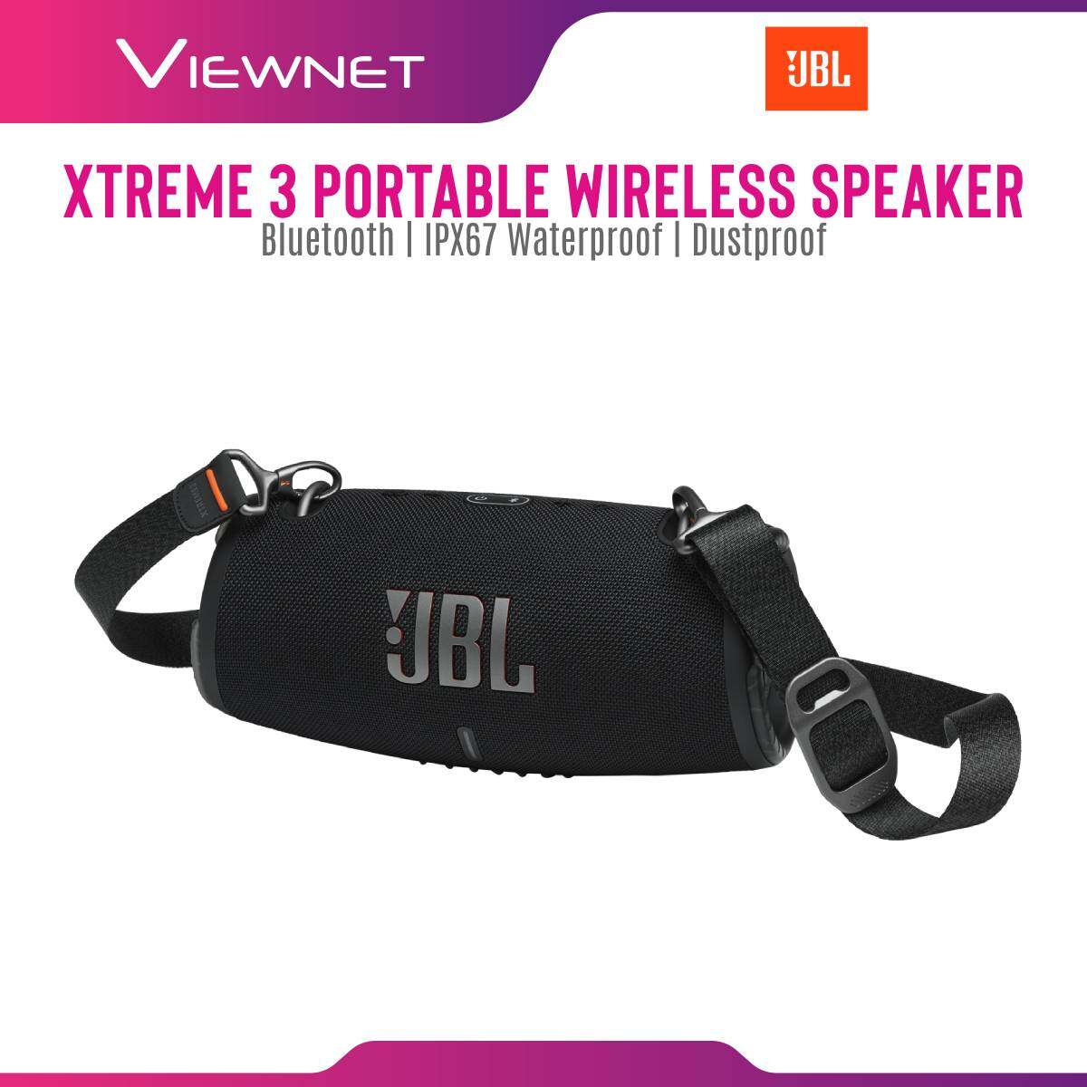 JBL Xtreme 3 Wireless Portable Speaker with IPX67 Waterproof and Dustproof , 15 Hours Playtime