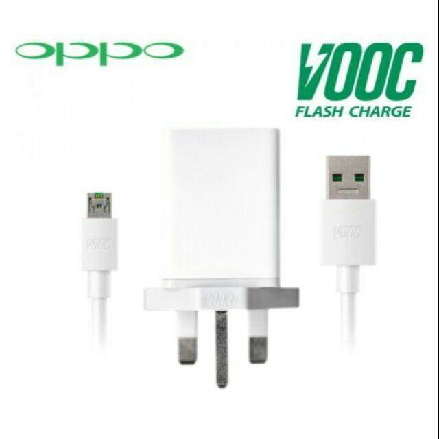 OPPO VOOC Flash Charger & VOOC USB Cable