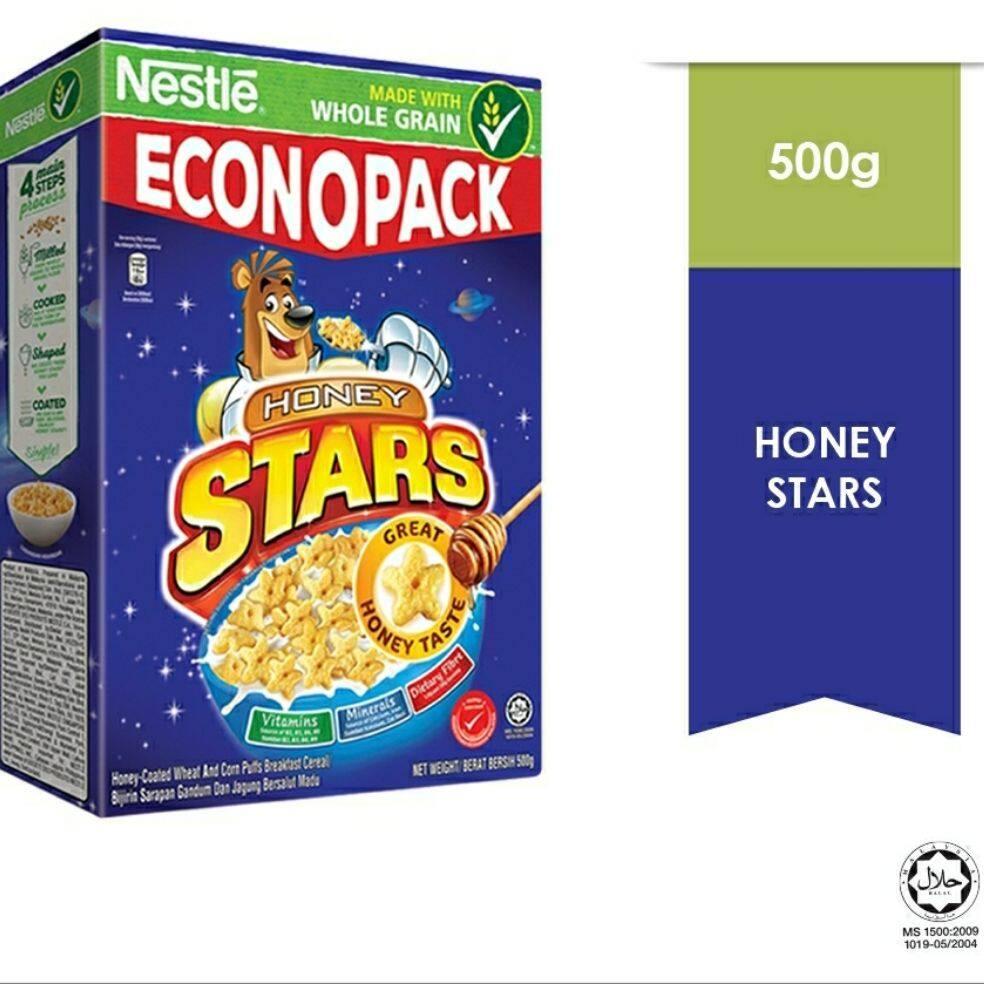 Nestle Honey Stars Cereal (500g)