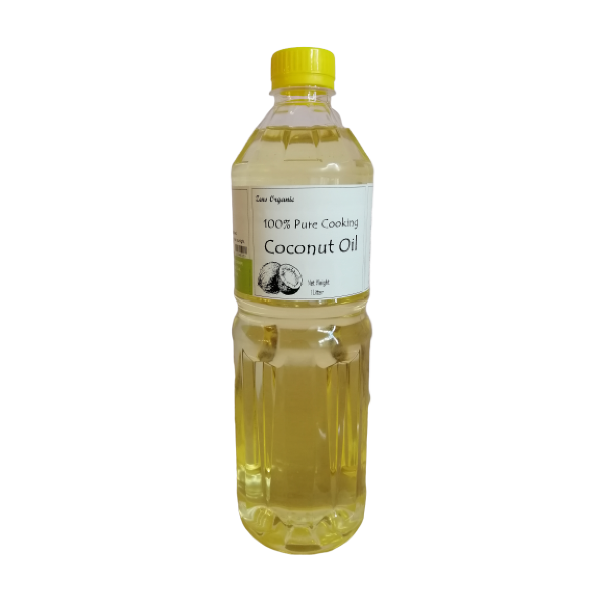 Zens Organic 100% Pure Cooking Coconut Oil 1L