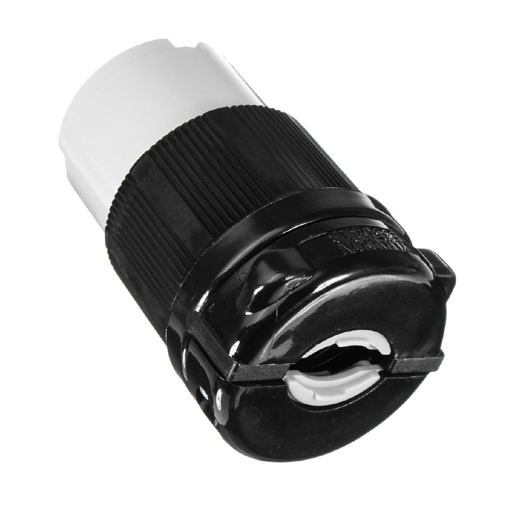 Engine Parts - NEL5-30C Locking Connector Plug Female Rated 30A 125V For Motor Connectors - Car Replacement