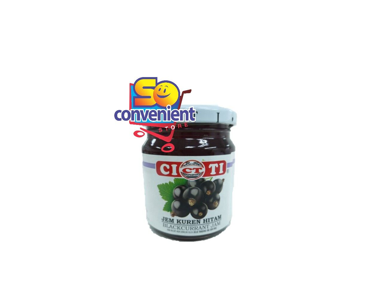 Citi Jam Black Currant 240g