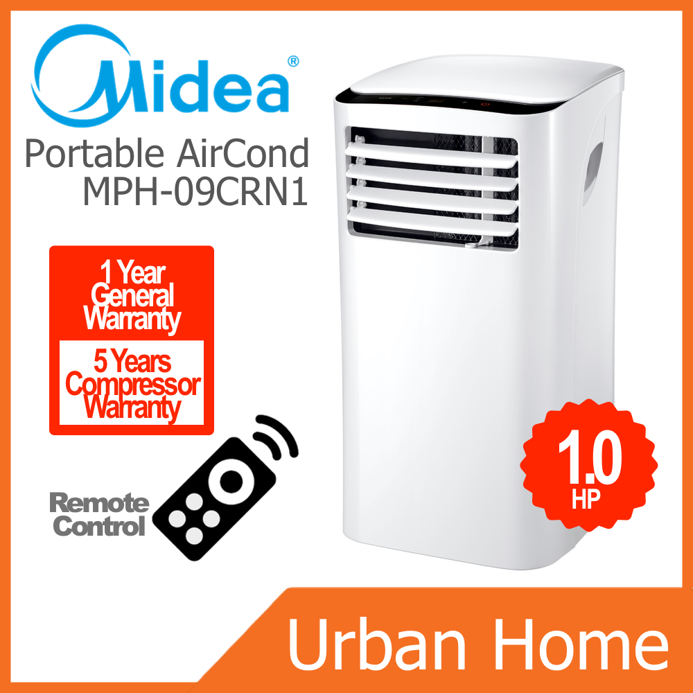 MIDEA 1.0hp PH Series Portable Air Cond (MPH-09CRN1/MPH09CRN1)