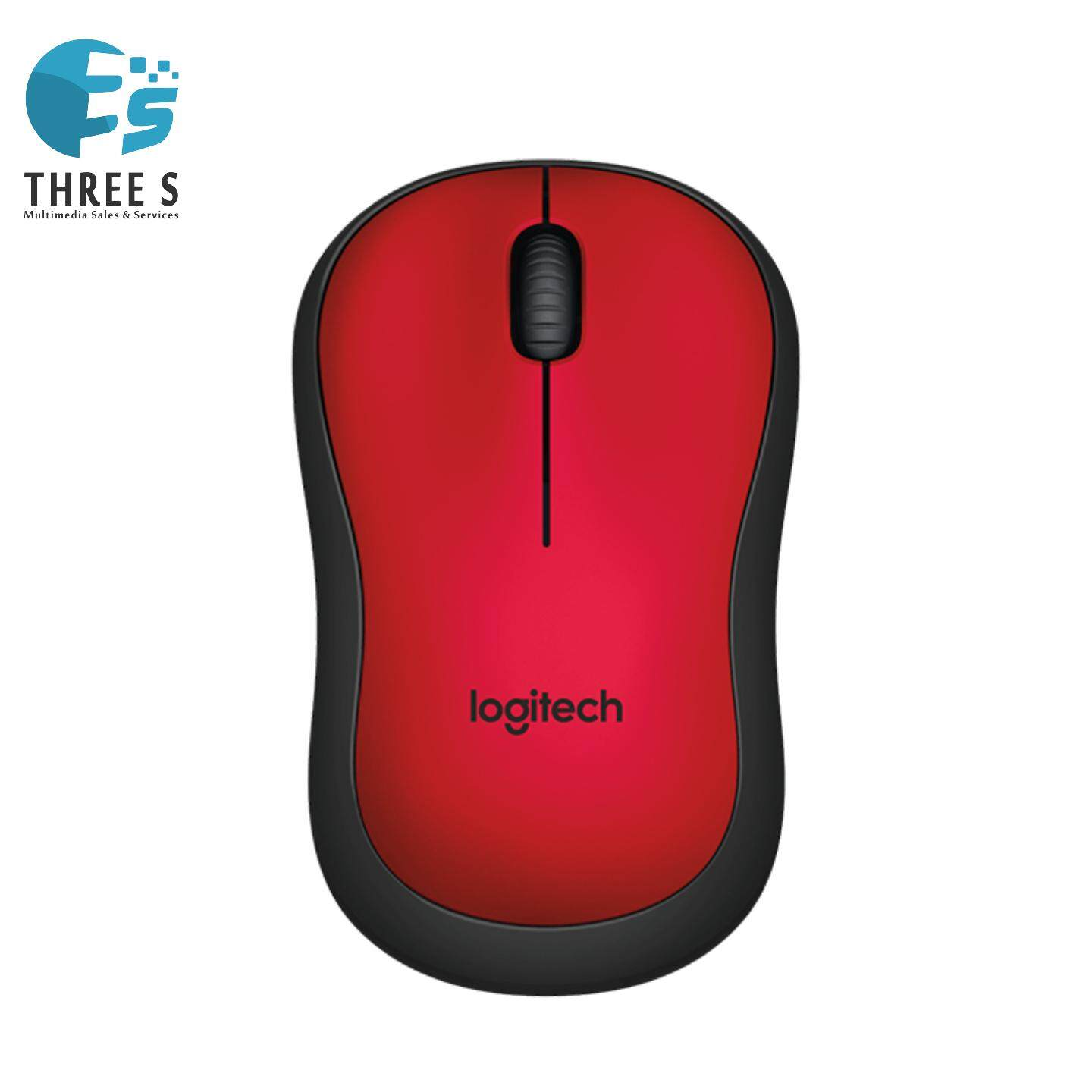 Ready Stock - Logitech M221 Silent Wireless Mouse