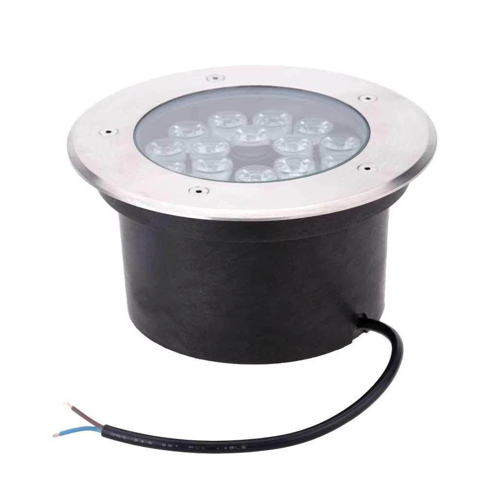 18W LED Outdoor Ground Garden Path Floor Underground Buried Yard Lamp Spot Landscape Light IP67 Waterproof AC 85-265V