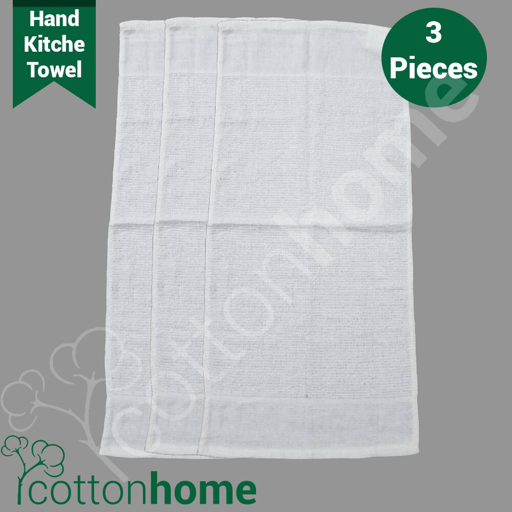Good Morning Star Towel: Hand / Kitchen Towel : 3pcs Per pack :: READY STOCK