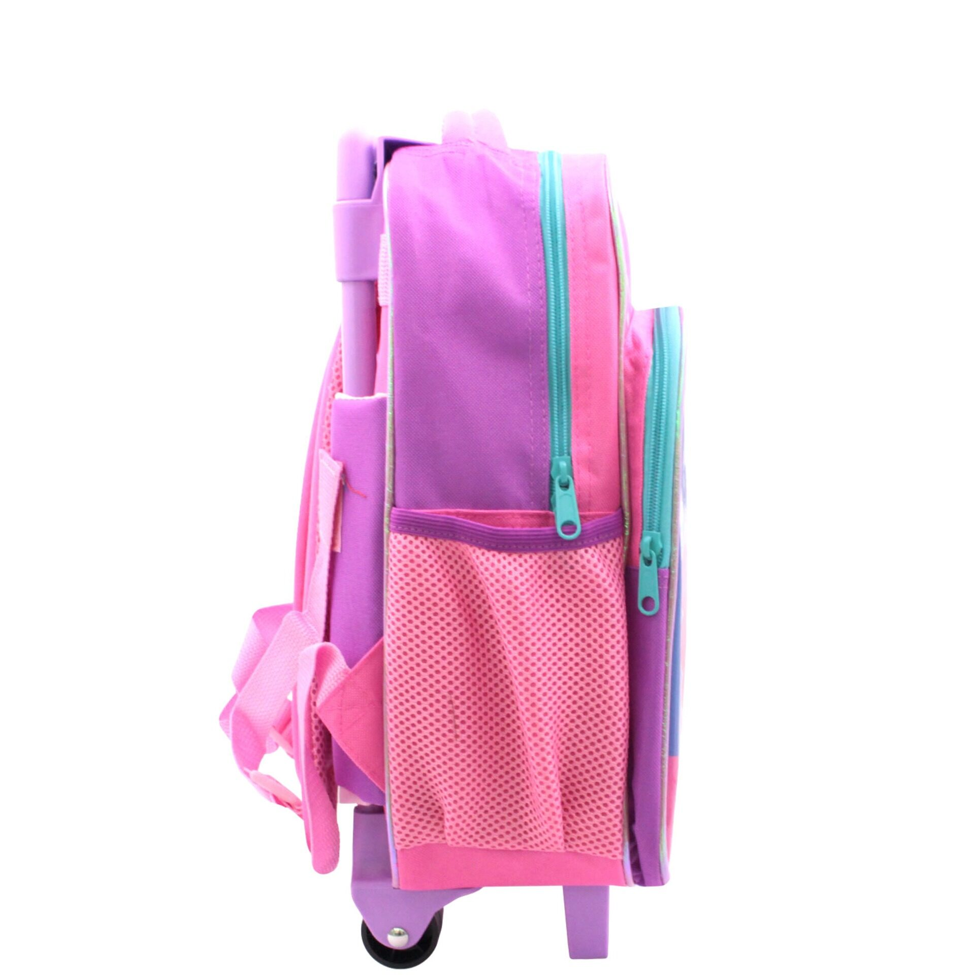 My Little Pony Unicone Pre School Trolley Bag with 2 Wheels (Light Pink) (Age 7 7 Above)