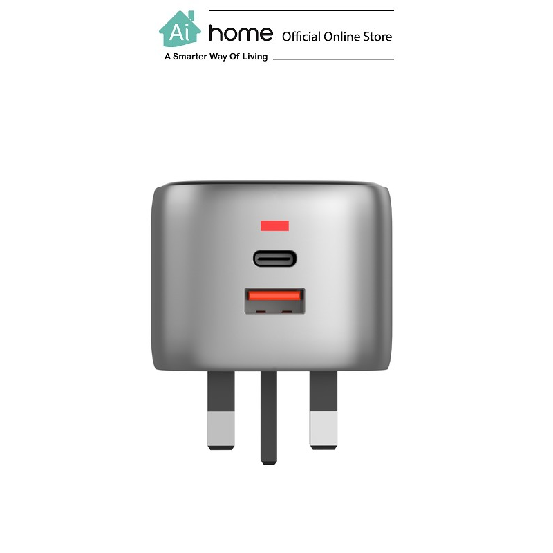 VIDVIE X XL-PLB105 30w 1 USB + PD Type-C Output [ Fast Charger ] with 1 Year Malaysia Warranty [ Ai Home ]