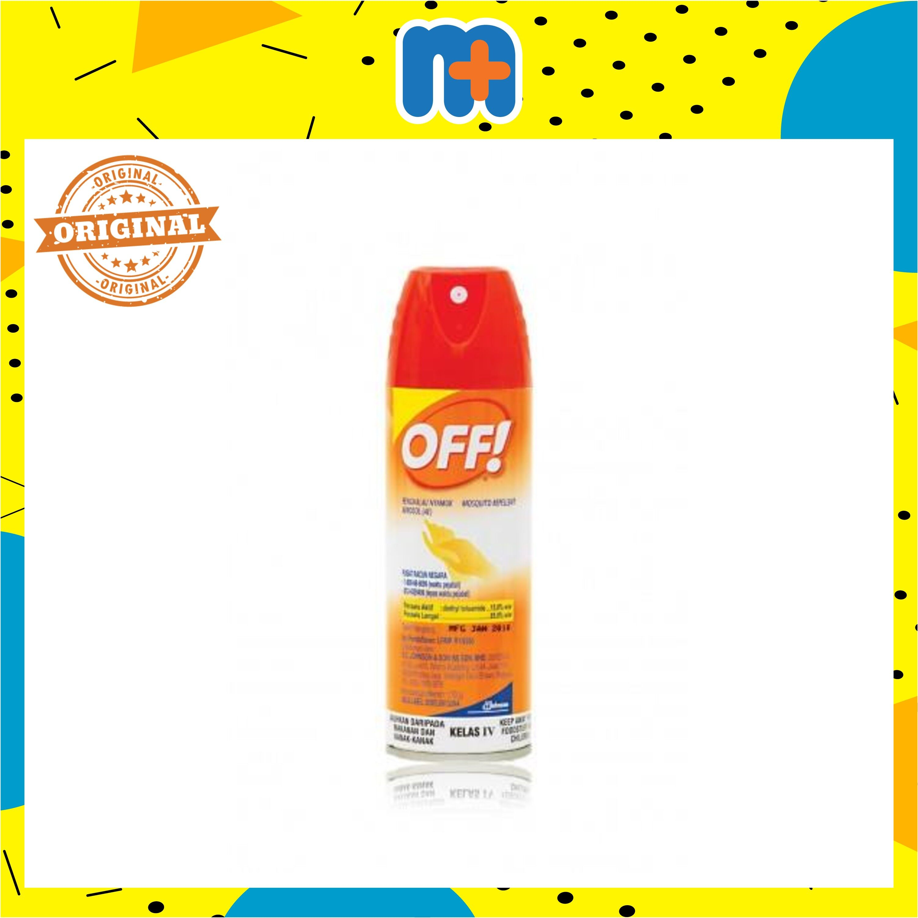 [MPLUS] OFF! INSECT REPELLENT AEROSOL SPRAY 170G
