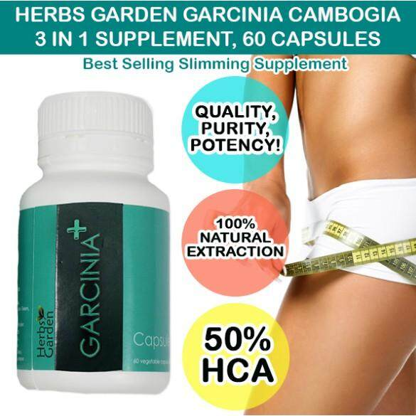 FREE GIFTHerbs Garden Garcinia Cambogia 60 capsules