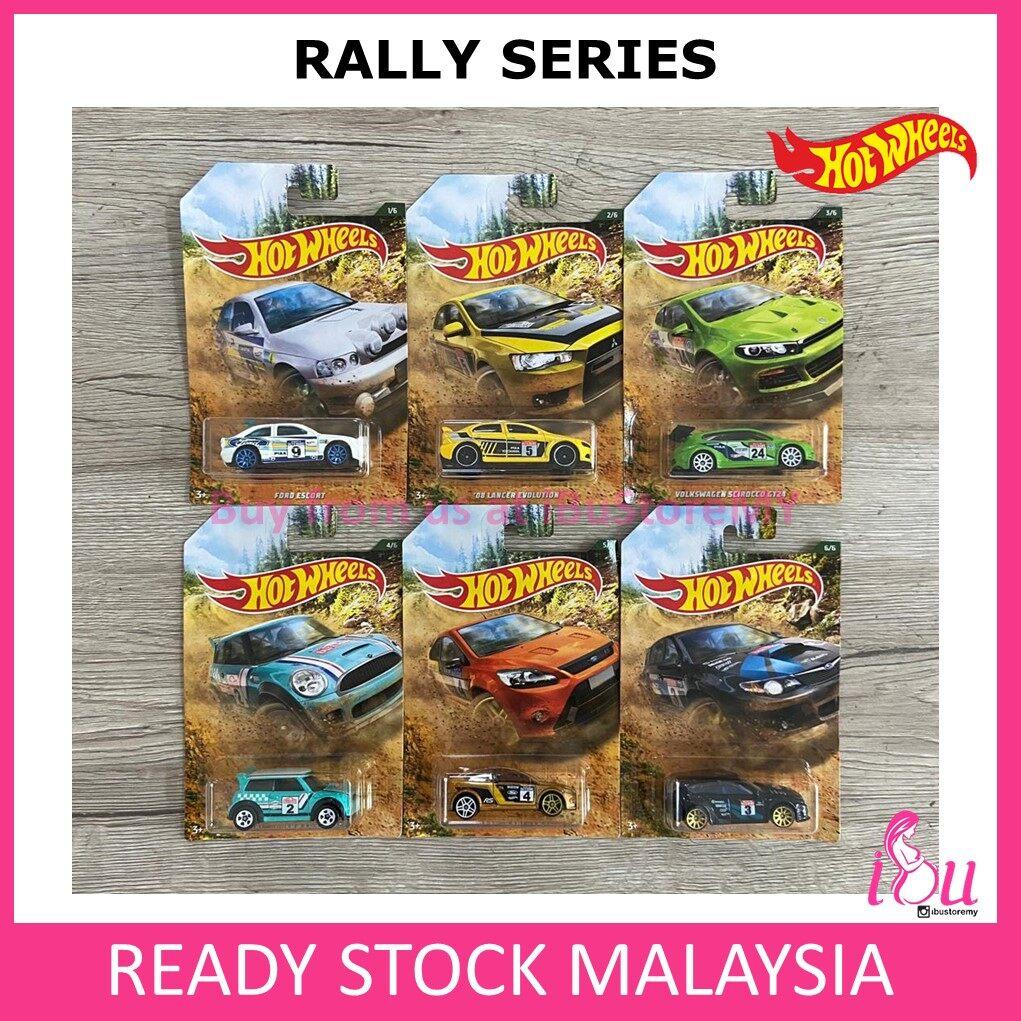Hot Wheels Rally Set of 6 Hotwheels