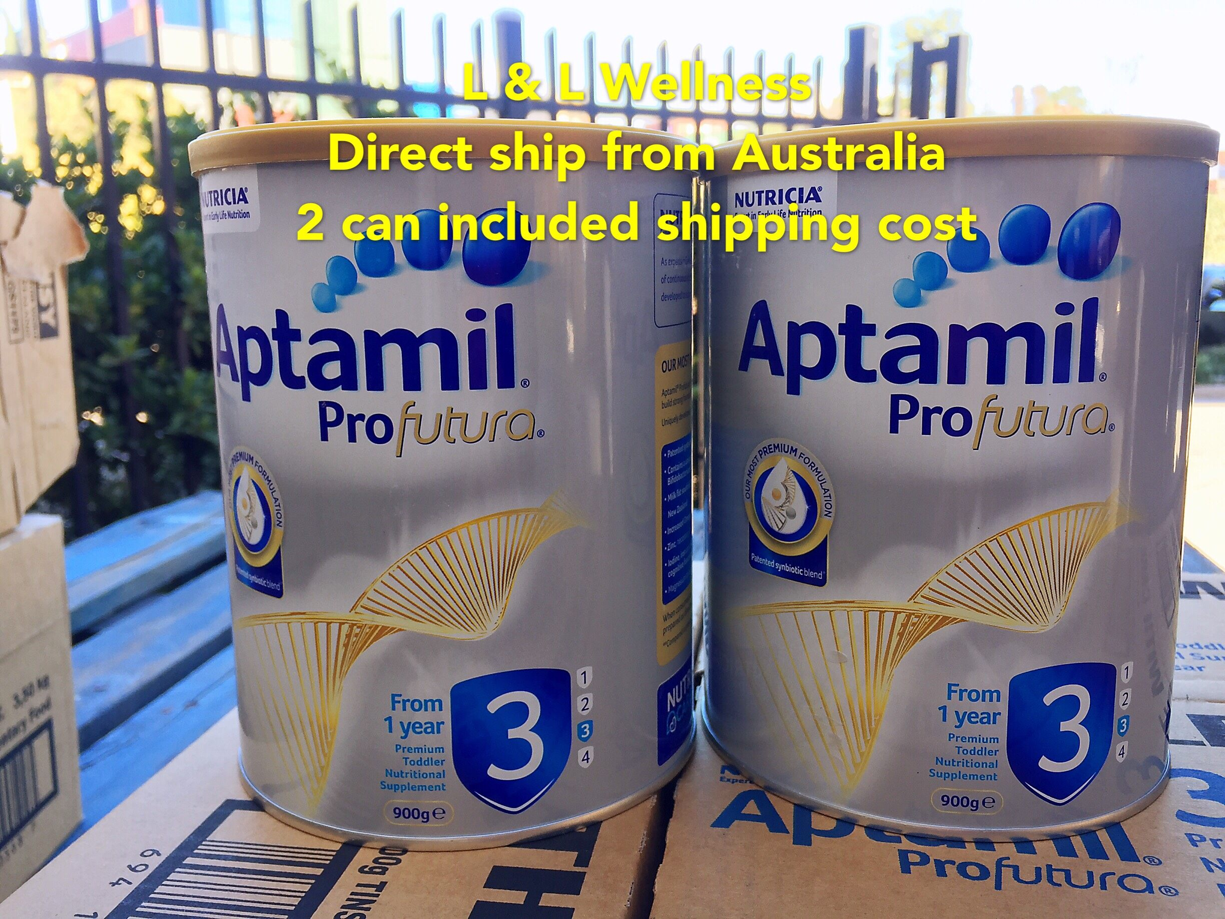 [Ready Stock] Australia Import Aptamill Profutura Formula step 3 ( 1 years +) 900g in Twin Pack