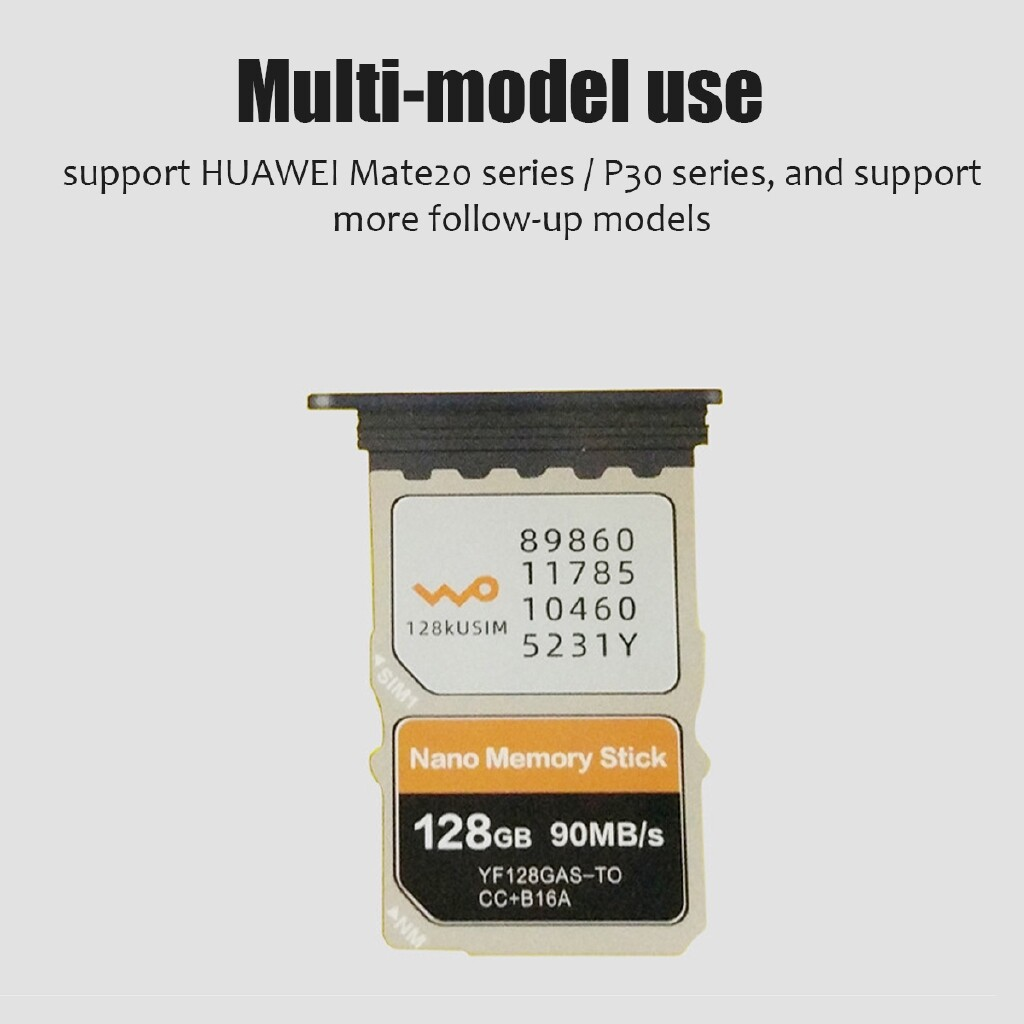 External Hard Drives - 2 in 1 Type-C USB3.0 To Micro-SD/NM PC Use Card Reader For Huawei Mate20/P30 Pro - YELLOW / WHITE / BLACK