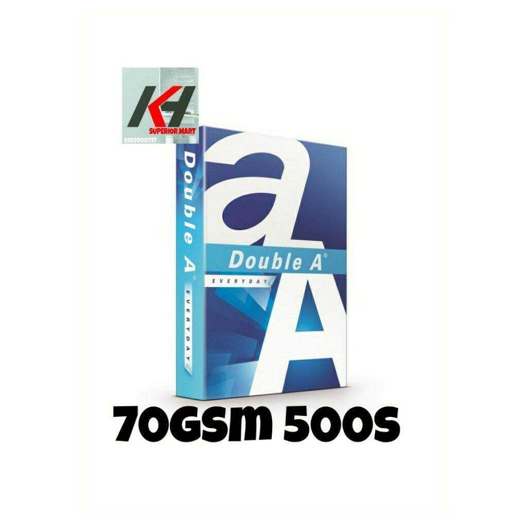 Double A A4 Paper - 70gsm 500sheet 1reams / 80gsm 500sheet 1reams