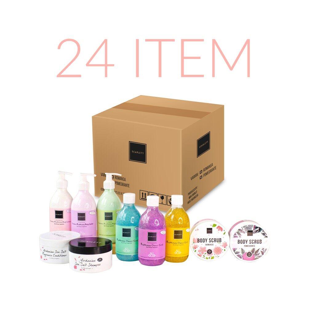 Scarlett Whitening Reseller Package 24 Items