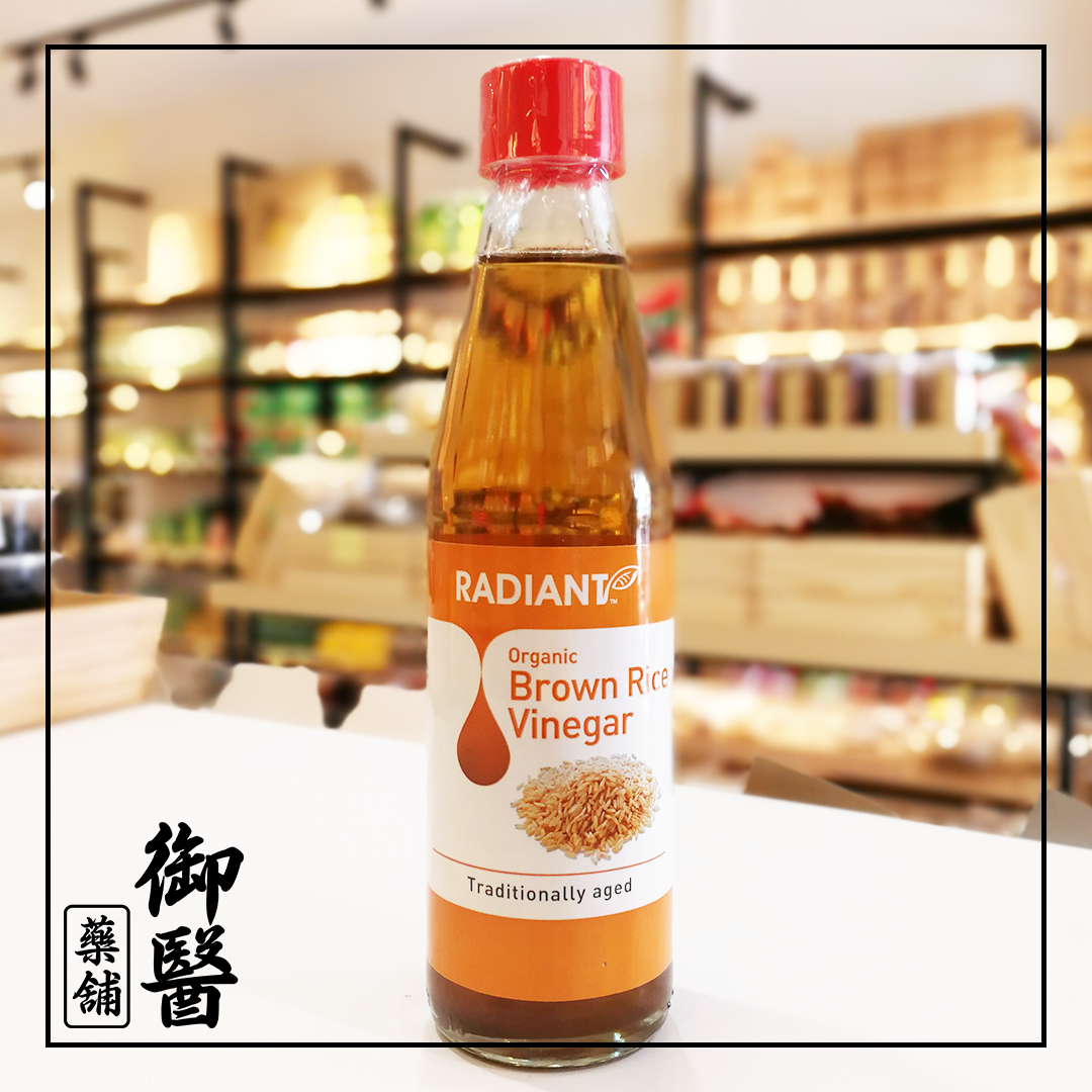 【Radiant】Organic Brown Rice Vinegar - 310ml