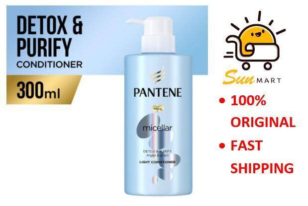 Pantene Micellar Scalp Conditioner 300ml Detox and Purify with Algae Extract