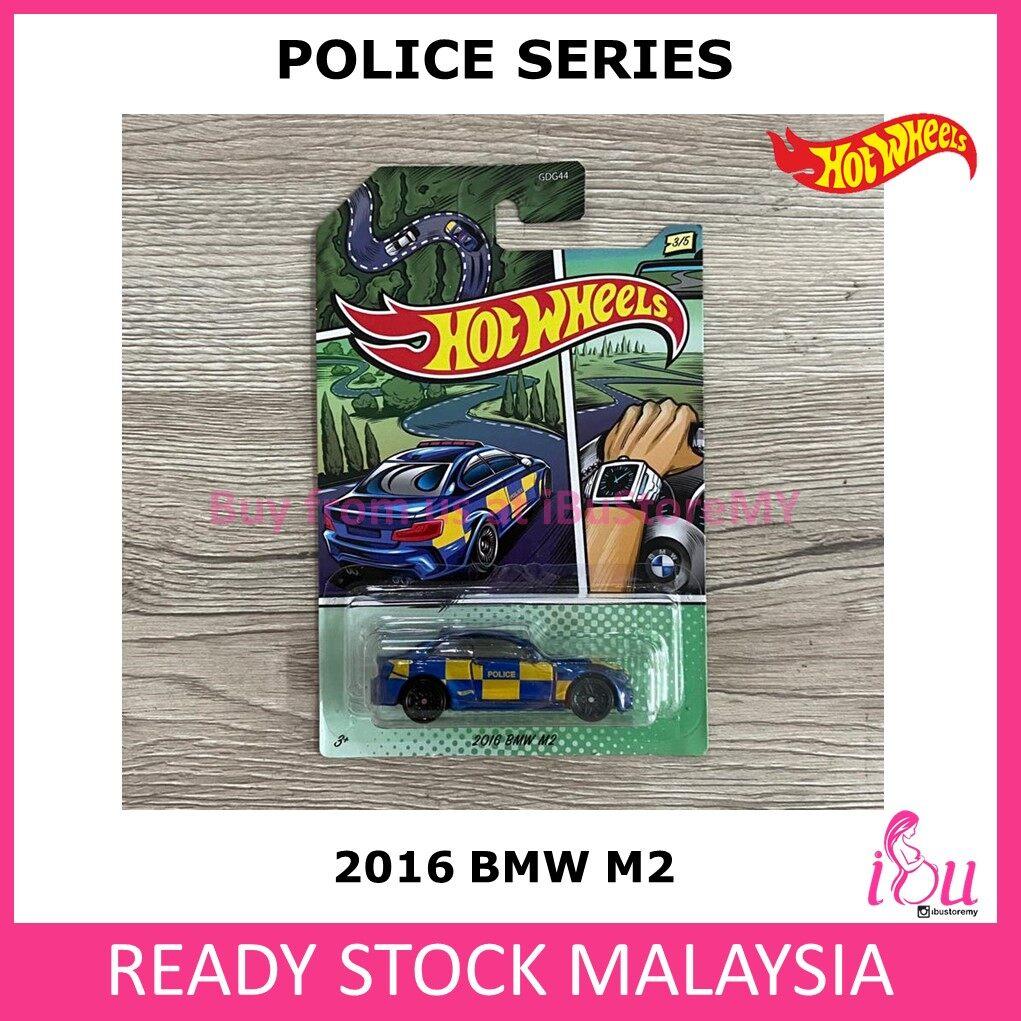 Hot Wheels Police Series Set of 5 Hotwheels Police
