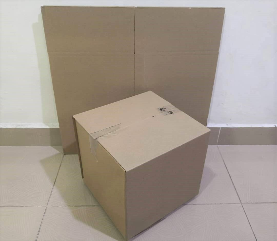 10pcs Plain Carton Boxes (L275 X W275 X H246mm)