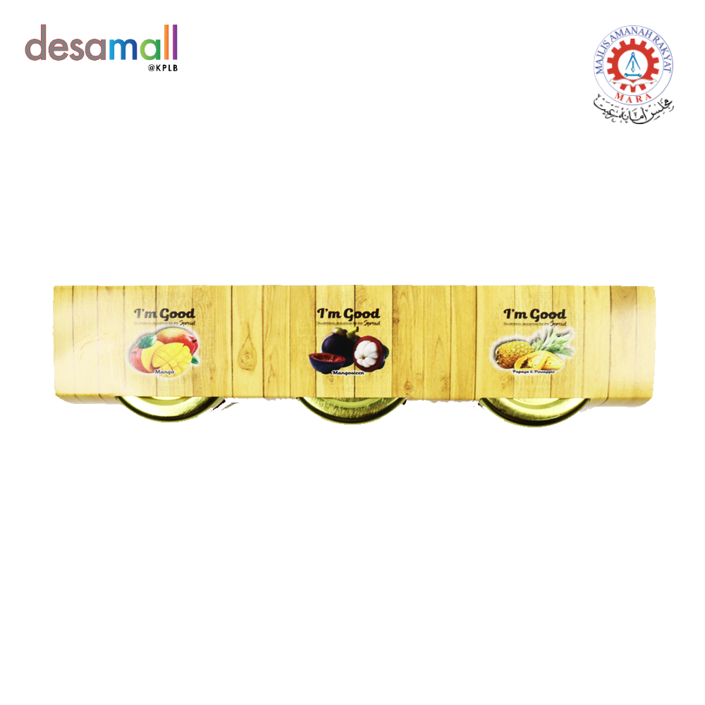 [TRIO PACK] IMGOOD PREMIUM SPREAD - Papaya & Pineapple, Mangosteen, Mango (25g x 3)