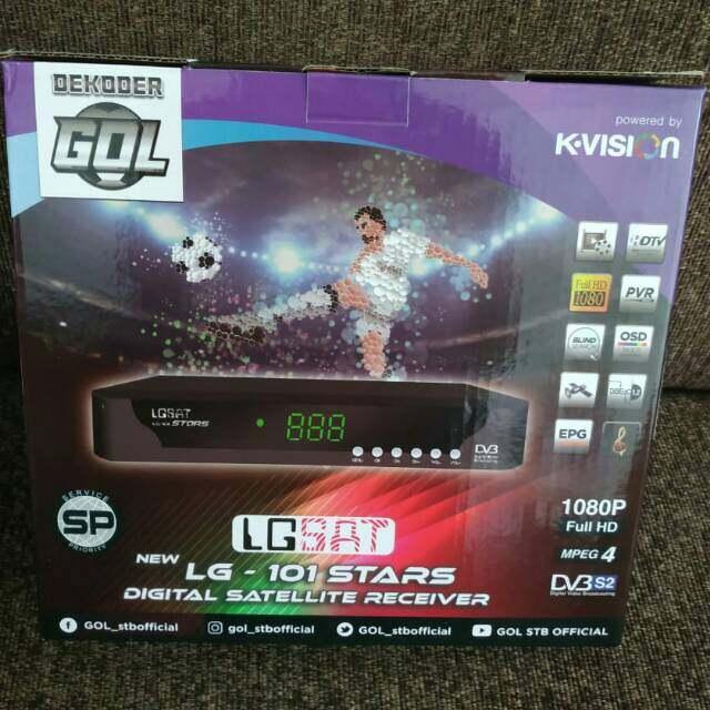 LGSAT Receiver LG 101 Stars HD