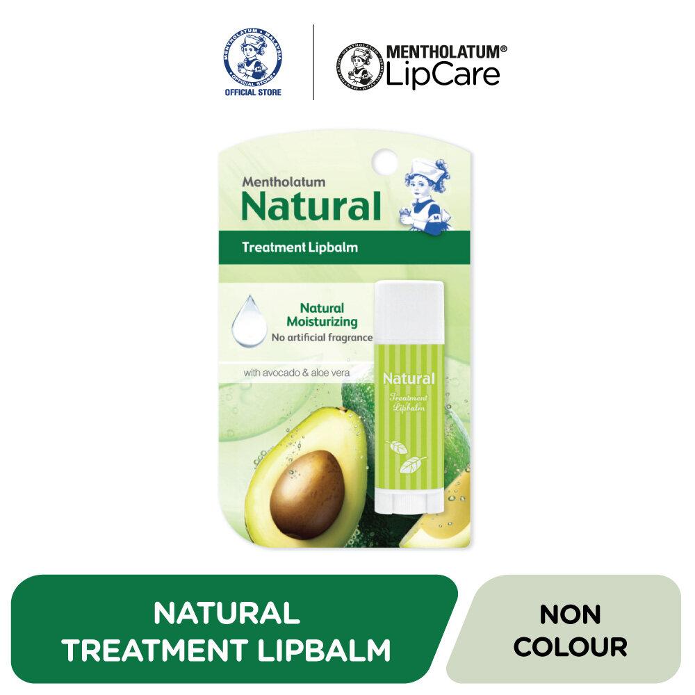 Mentholatum Natural Treatment Lipbalm Fragrance Free