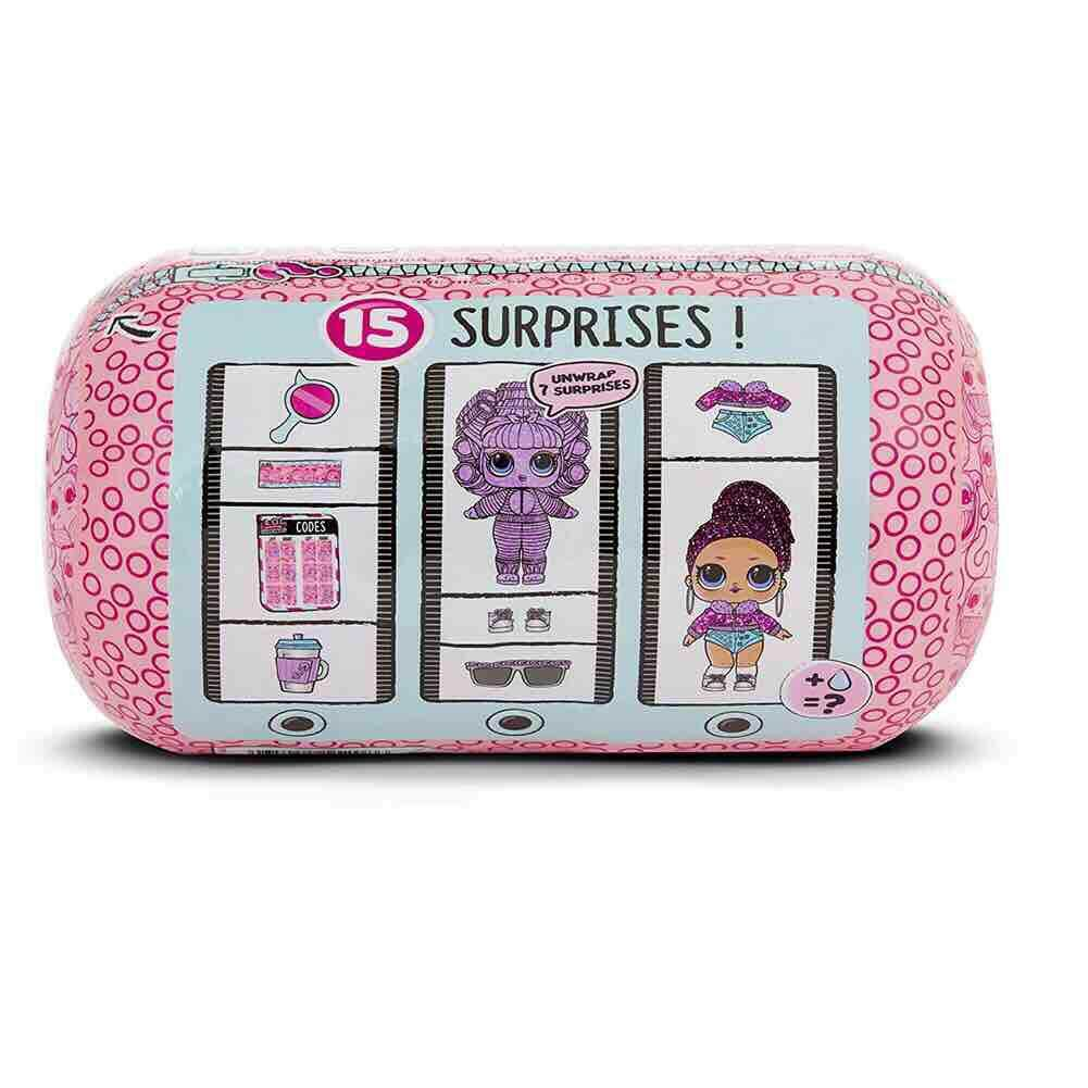 7 Surprises Ball & Tube of L.O.L. Sparkle Series Doll With Surprise Doll!