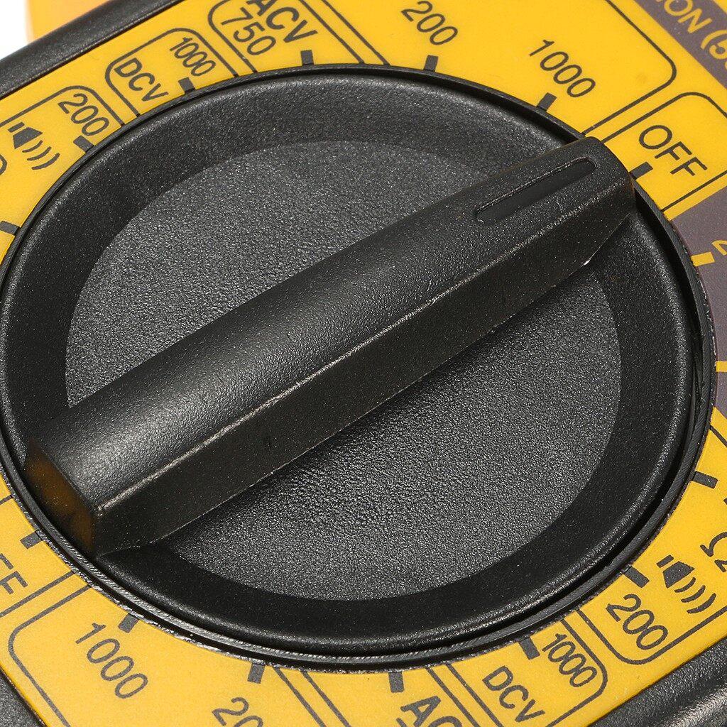 DIY Tools - DT266 Electronic Digital Clamp Meter Multimeter AC DC Current Volt Hold Tester - Home Improvement
