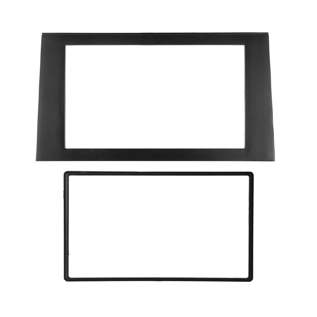 Car Stickers - Car Stereo Frame 2 DIN For Audi A4 B7 02-08 /Audi A4 B6 02-06 /SEAT Exeo 09+ - Accessories