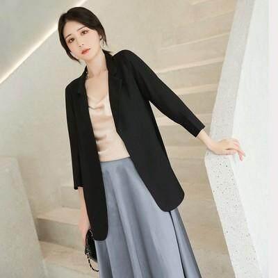 (Pre Order14 Days JYS Fashion Korean Style Women Blazer Collection 525a- 7591col525a-7591--Black -S