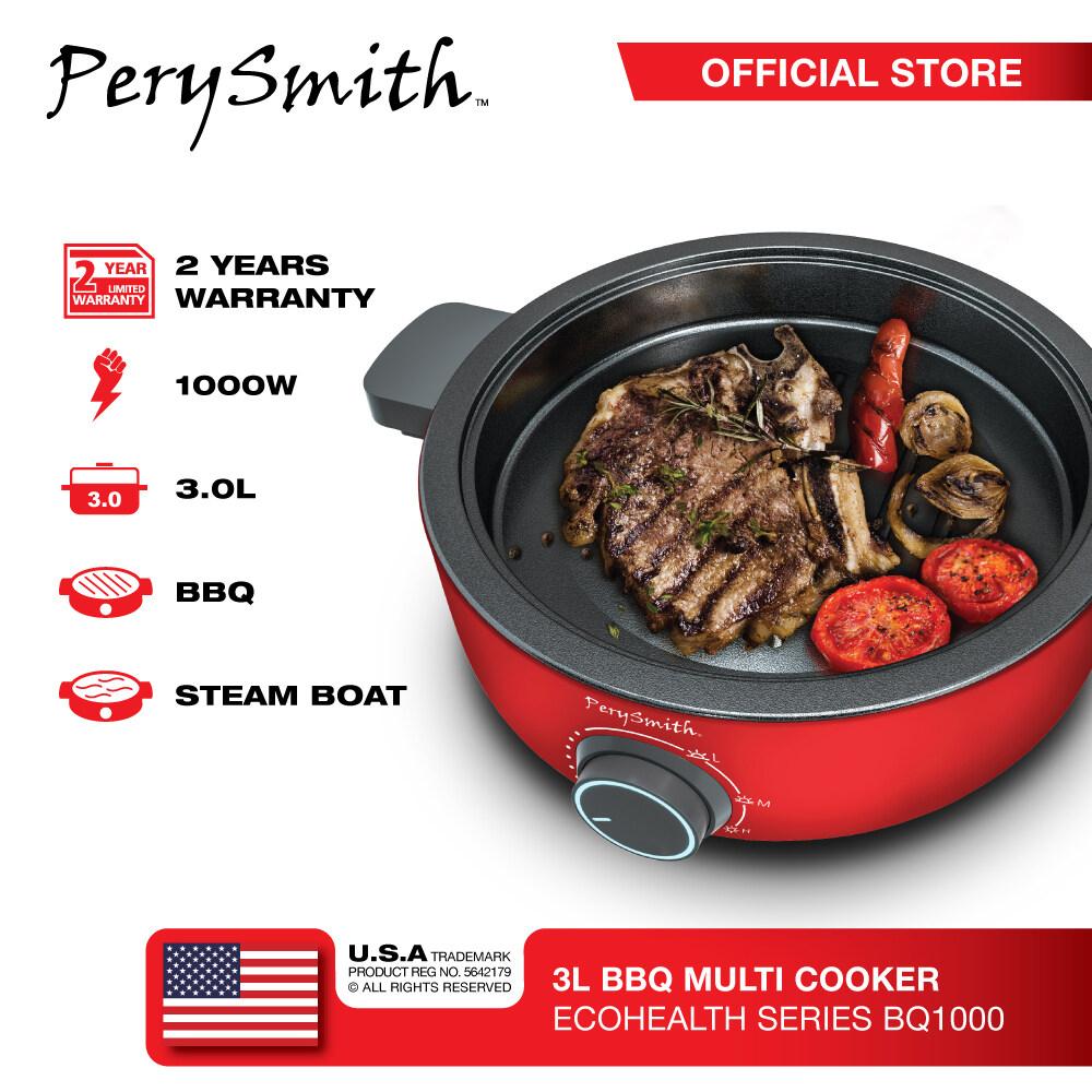 PerySmith 3L BBQ Multi Cooker Ecohealth Series BQ1000BQ1000