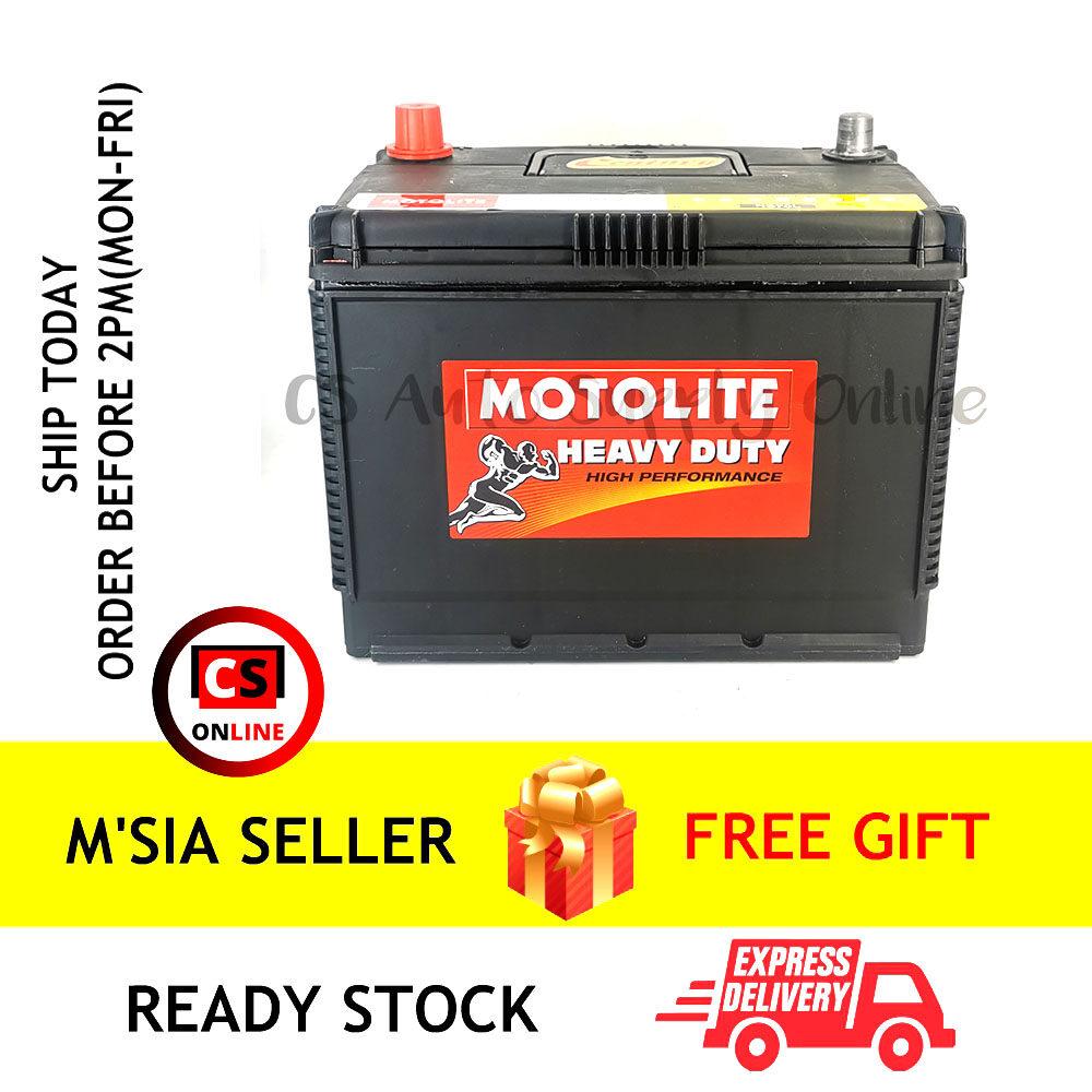 Century NS70L NS70 L Motolite Car Battery MF for Proton Preve, Exora, Toyota Estima, Innova and Vellfire Ipoh (100% Original)