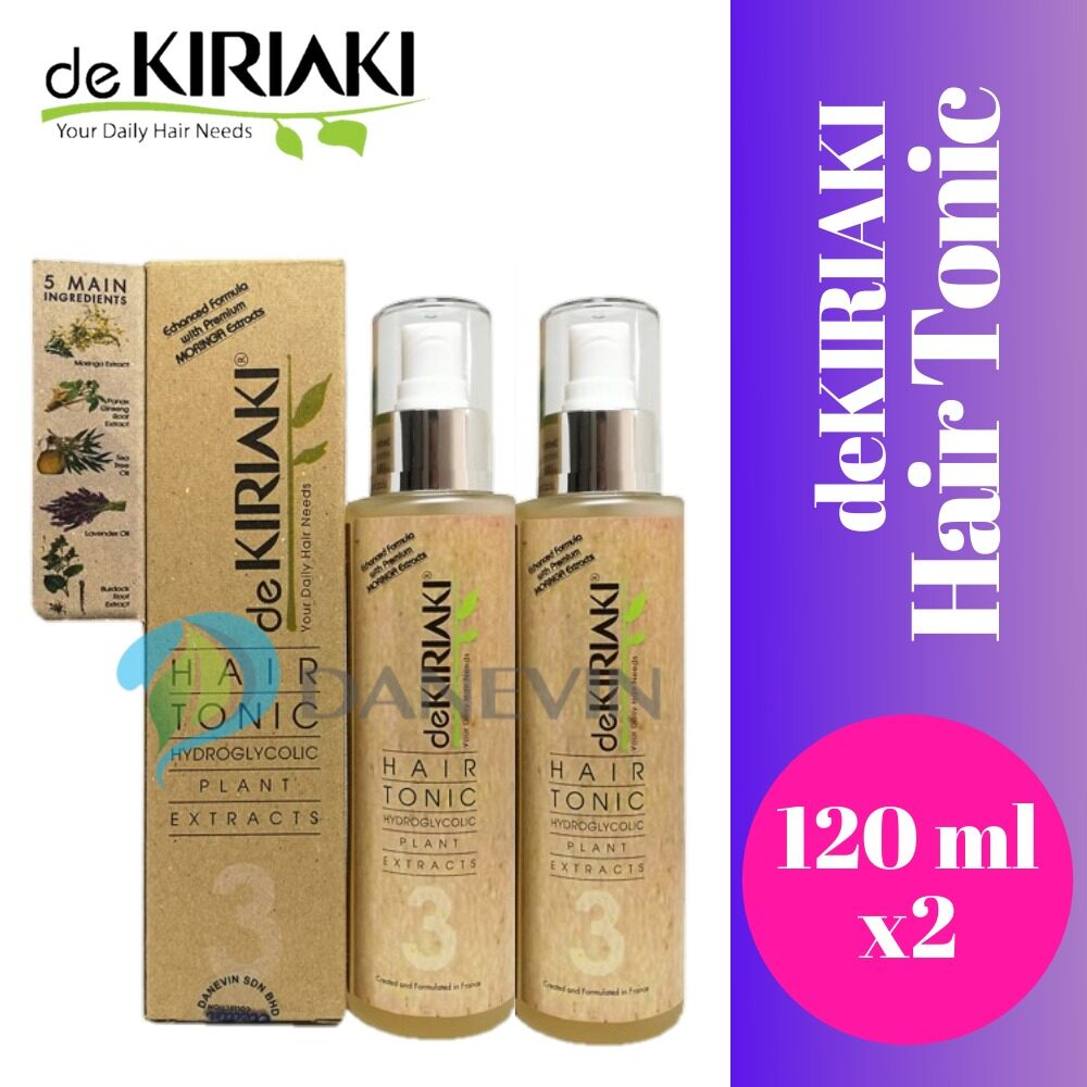 2 X DeKiriaki Hair Tonic [120ml]