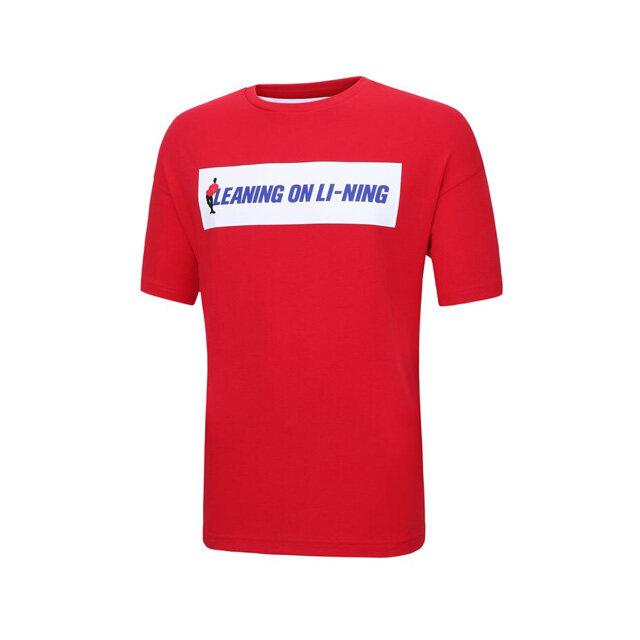 Li-Ning LEANING ON LI-NING T-Shirt AHSP243